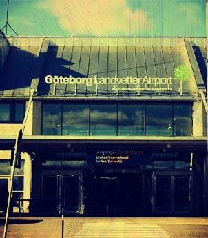 Flughäfen in Schweden