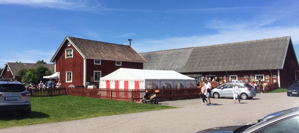 Loppis in Östregårds (Moheda)
