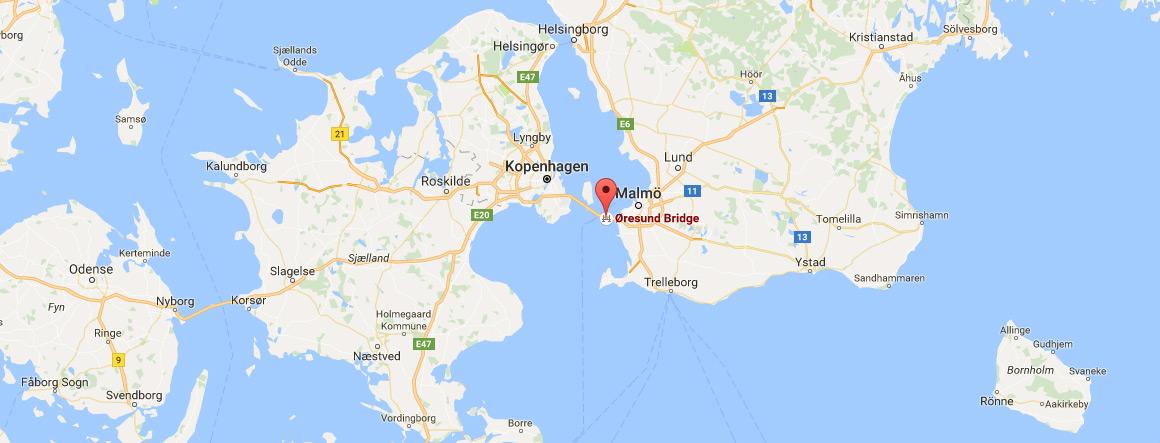 brücke dänemark schweden karte Öresundbrücke – Preise, Tickets und Informationen