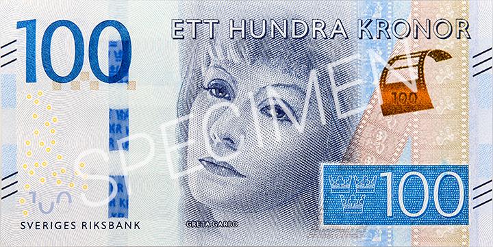 Geldschein 100 SEK