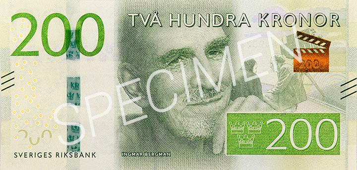 Geldschein 200 SEK