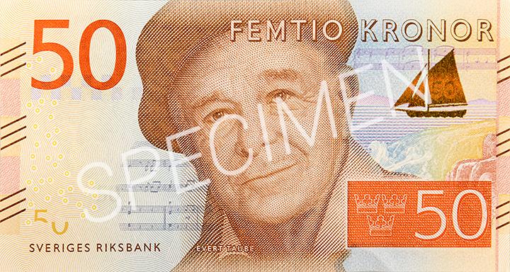 Geldschein 50 SEK