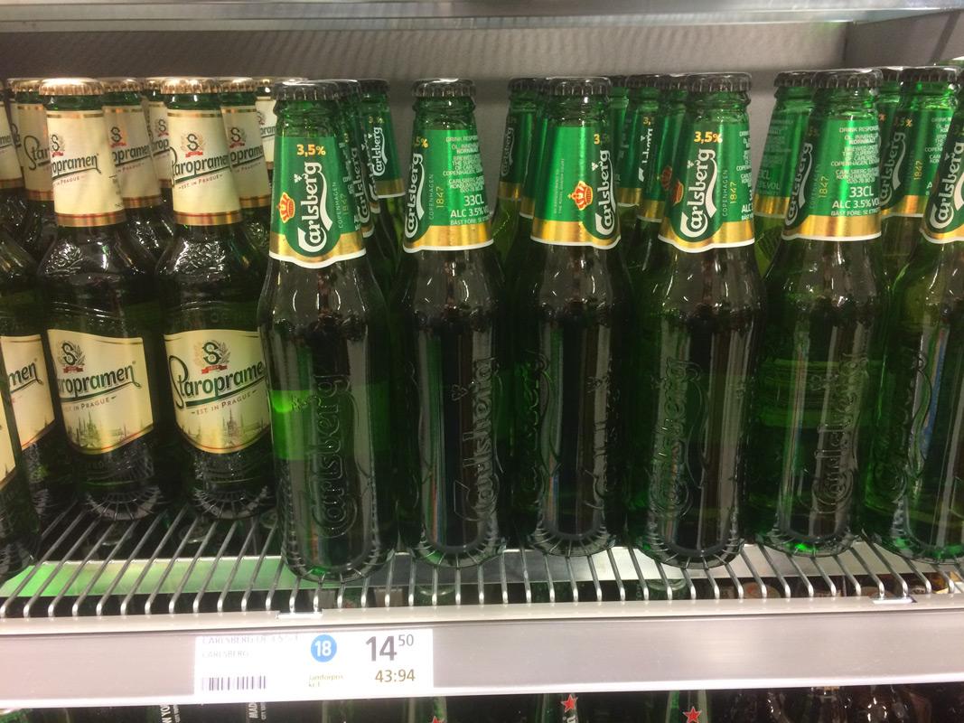 Alkohol Schweden Supermarkt