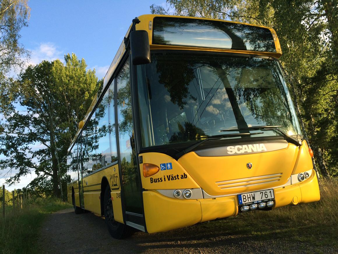 Mit dem Bus nach Schweden