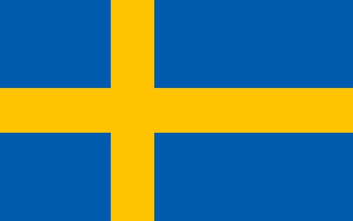 Schwedenflagge original