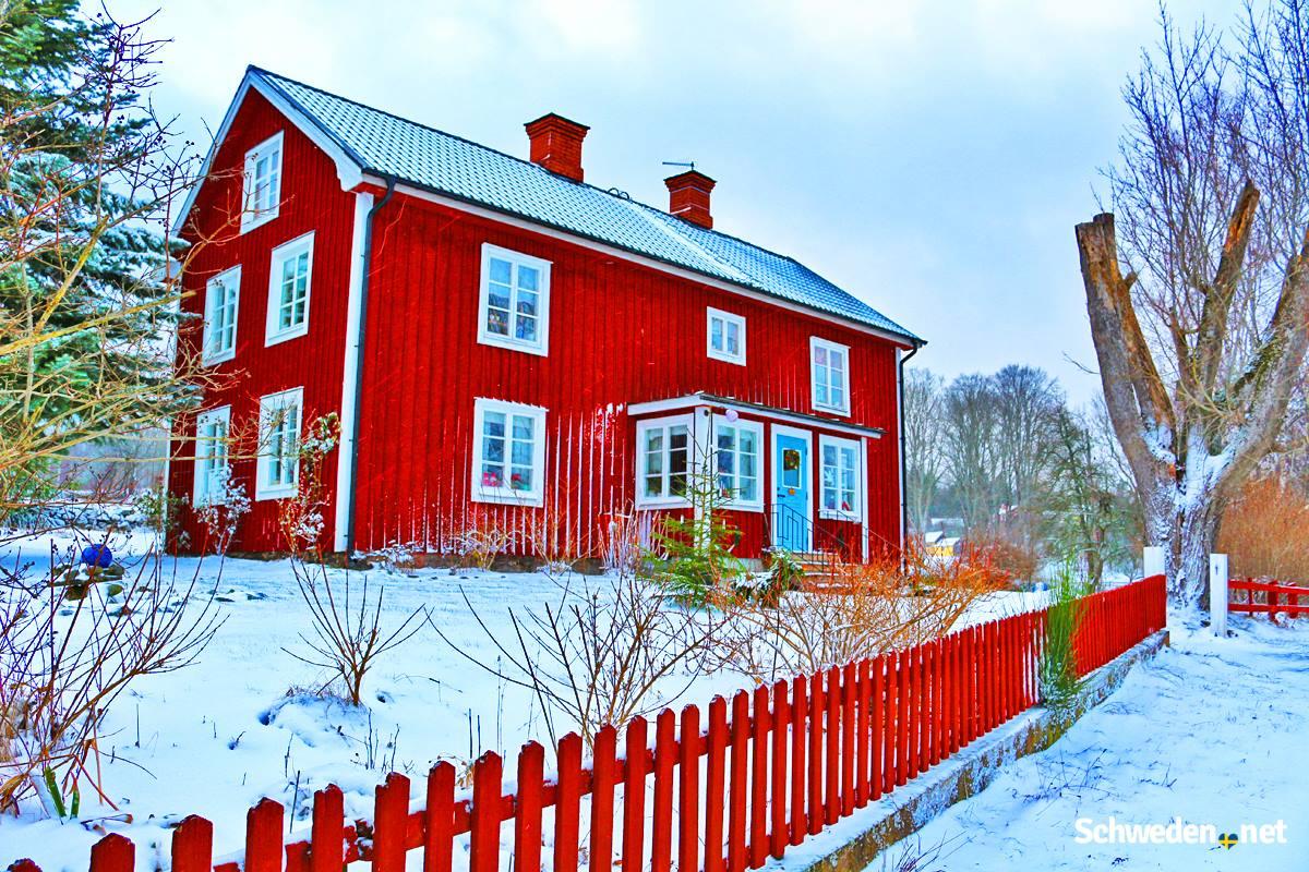 Schwedenhaus Winter