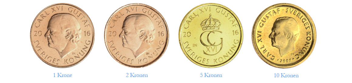 Schwedische Münzen