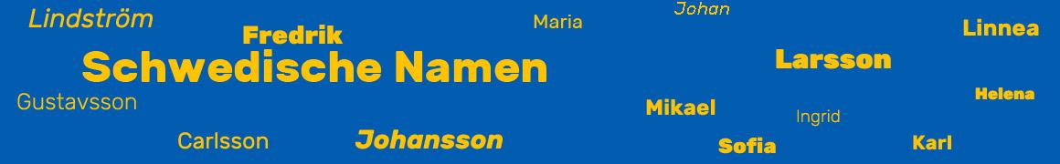 Schwedische Namen