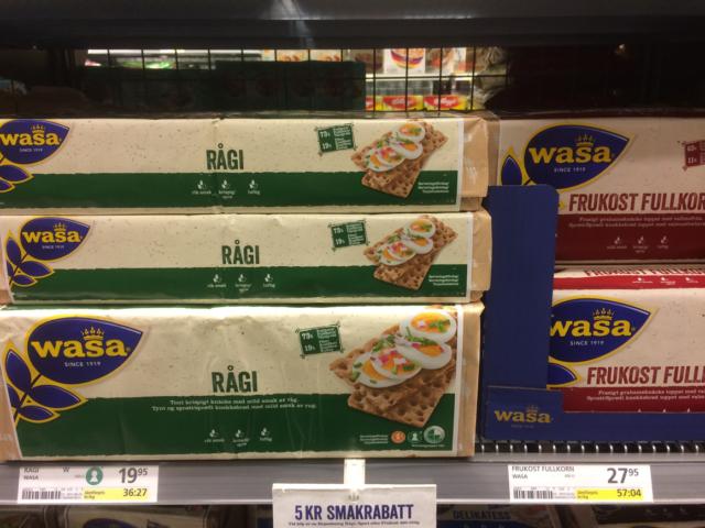 Wasa Knäckebrot Schweden