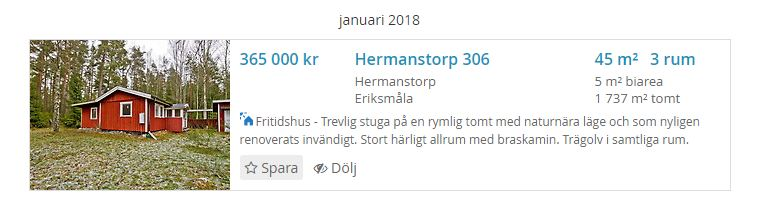 Foto: Hemnet I Ferienhaus in Kalmar